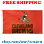 Deluxe-Cleveland-Browns-Team-Logo-Flag-Banner-3x5-ft-NFL-Football-2019-NEW thumbnail 1