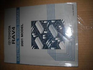 2001 toyota rav4 rav 4 electrical wiring diagram manual ewd ebay rh ebay ie Electrical Diagram 2001 Savanna toyota rav4 2001 radio wiring diagram