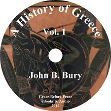 A History of Greece, Vol. 1 Classic College Audiobook by John B Bury on 1 MP3 CD