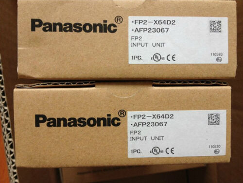 1 of 1 - Panasonic PLC FP2-X64D2(AFP23067) Input Unit New In Box