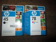 HP 45 Black Ink Printer Cartridge 42 Ml Exp June 2016 Genuine 51645a
