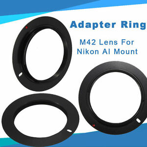 Substantial-M42-Mount-Lens-To-NIKON-AI-Adapter-Ring-For-D750-D810-D5000-Chic