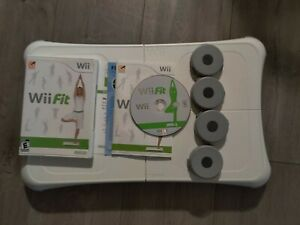 Nintendo Wii Fit Game with Balance Board Bundle - FREE SHIPPING - TESTED&CLEANED