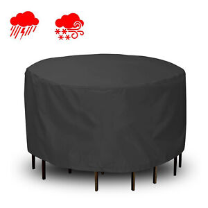 Waterproof Garden Furniture Set Cover Rattan 600D Protective Outdoor Patio Table