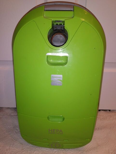 KENMORE Model 116 Lime Green Canister Vacuum Main Unit ONLY Tested USED