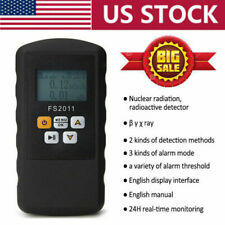Real Time Geiger Counter Nuclear Radiation Detector Dosimeter Meter Us