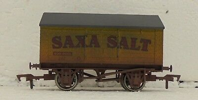 Toys & Hobbies Freight Cars Honesty Dapol 4f-018-002 Saxa Salt Weathered Let Our Commodities Go To The World