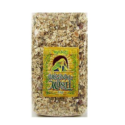 (6,99/kg) Rapunzel Original Müsli ohne Zusatz von Zucker bio 1 kg