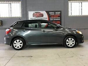 2012 Toyota Matrix ** 1,2&3 CHANCES & FINANCEMENT MAISON **