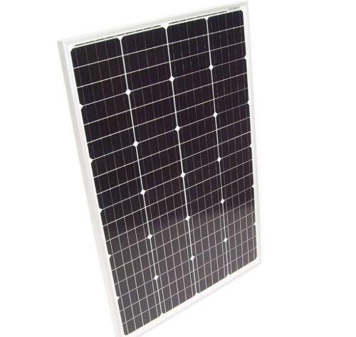 55400 Solarpanel Solarmodul 110W Solarzelle 12V Solar MONOkristallin Mono