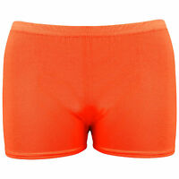 Hot Pants for Kids Girls Children Neon Stretchy Dance Tutu Shorts Age 5-12 Year