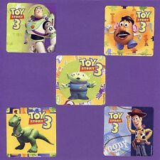 15 Toy Story 3 Large Stickers - Party Favors - Buzz Lightyear, Woody
