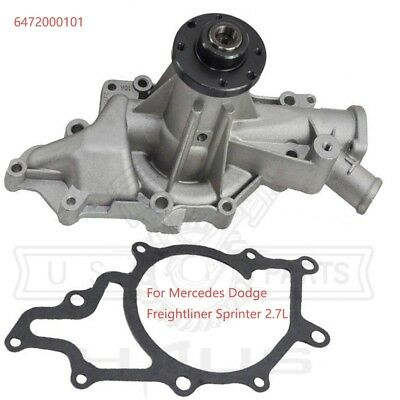 Engine Water Pump for 2002-2003 Sprinter Van 2500 //3500 L5-2.7L Diesel Turbo