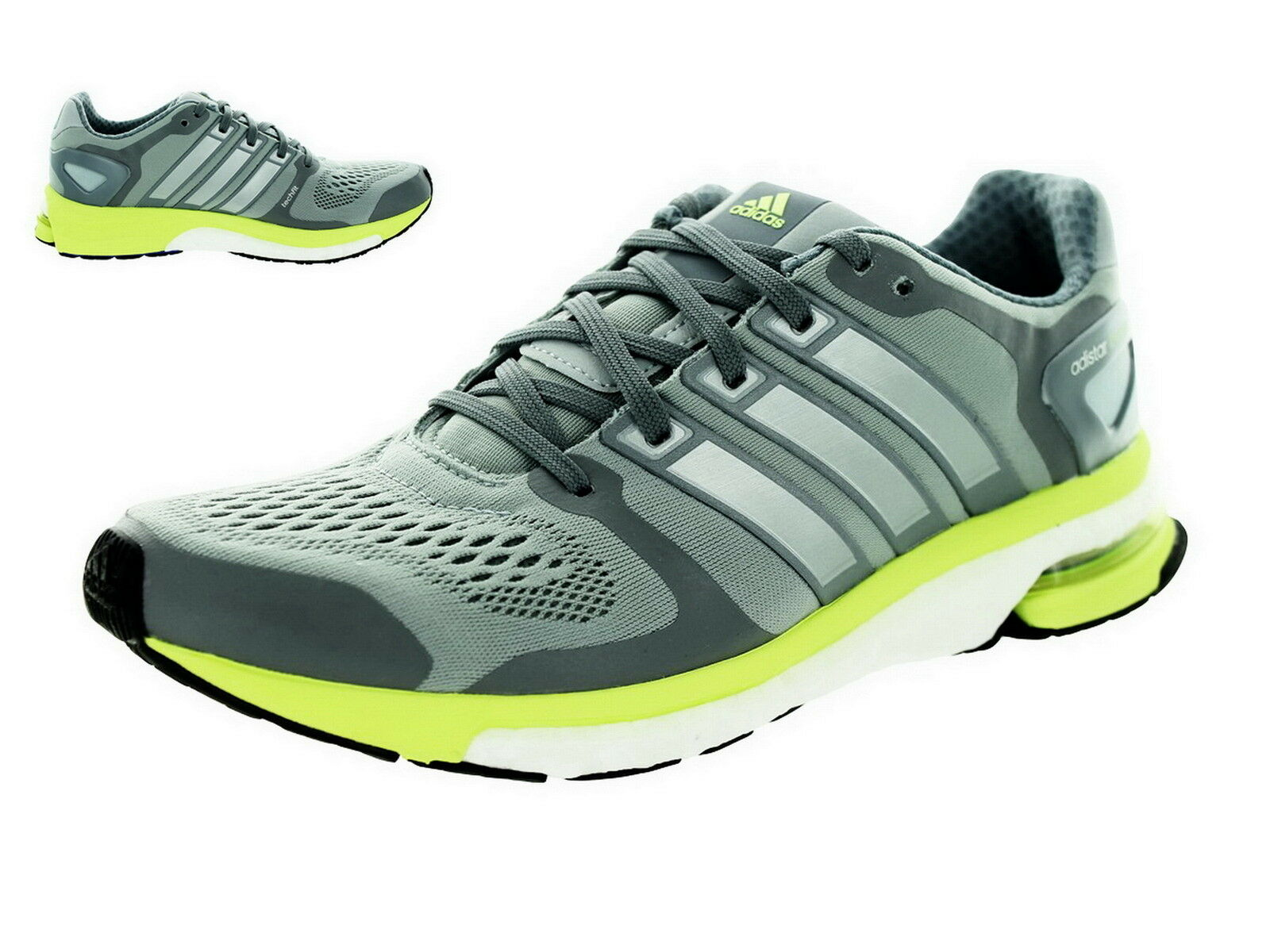 Adidas Adistar Boost W ESM DaSie Laufen B26737 Light grau Lime Grün