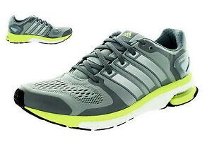 Details about adidas Adistar Boost W ESM Damen Running B26737 Light Grey Lime Green