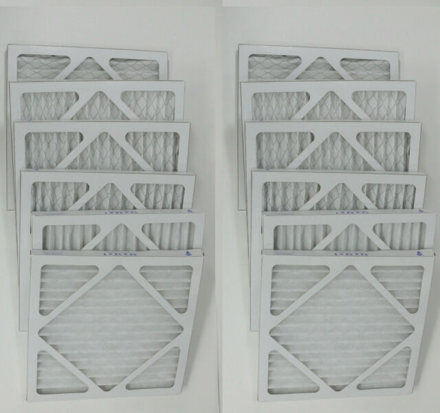 Nordic Pure 11/_3//4x23/_3//4x1 MERV 10 Pleated AC Furnace Air Filters 6 Pack