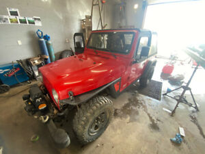 """1997 Jeep tj Soft top looking to sell or trade for 164-174"""" sled"""