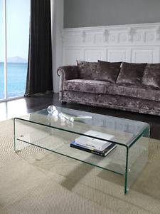 Ct 221 Dupen Design Couchtisch Glas Tisch Wohnzimmer Tv Board 110 Cm