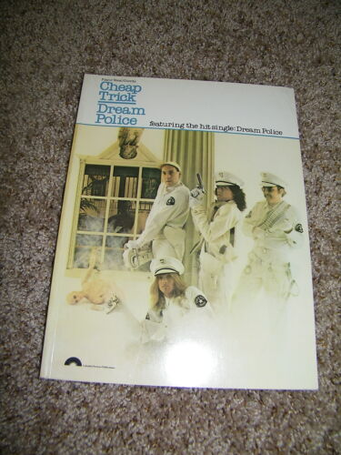 Sheet Music Book Cheap Trick Dream Police Album New