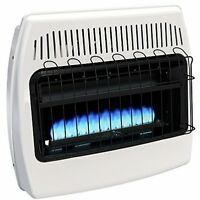 Wall Heater Liquid Propane Blue Flame Vent Free Garage Shed Workshop Dyna-glo on Sale