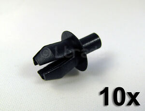 10x-Befestigungsclips-Spreiznieten-Audi-VW-Seat-Mercedes-Ford-Verkleidungen-NEU