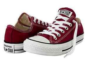 Converse-Chucks-All-Star-White-M9691-35-53-Weinrot-Neu-Klassiker