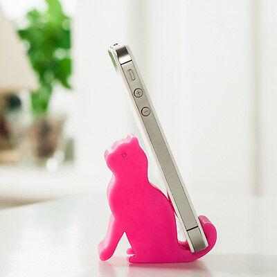 Fashion Lovely Cat Phone Holder Universal Cartoon Smart Cute Desk Stand Holder