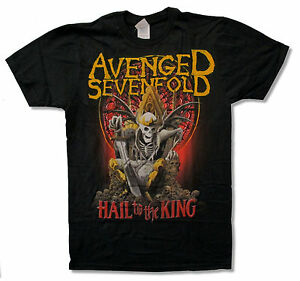 Avenged-Sevenfold-New-Day-Rises-Black-T-Shirt-New-Official-Adult-A7X
