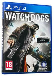Watch-DOGS-SONY-PLAYSTATION-4-Nuovo-di-zecca-1st-Class-consegna