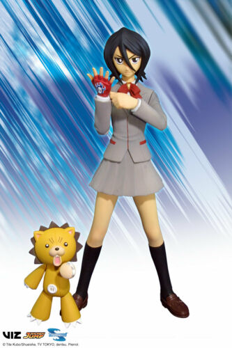 New! Rukia 15cm Toynami Bleach Deluxe action Figure