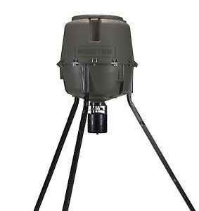 MOULTRIE-30-Gal-Adjustable-Height-Quick-Lock-Elite-Tripod-Deer-w-Digital-Timer