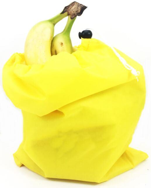 3x Insulated Banana Fridge Storage Bag Prevents Over Ripening Reusable Uk