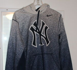 big sale 5e8fd 2b9f3 Details about Men's Nike New York Yankees Hoodie Sweatshirt Size S Small  MLBP 2014