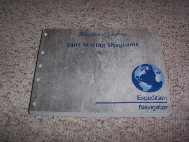 2001 Lincoln Navigator Electrical Wiring Diagram Manual 5