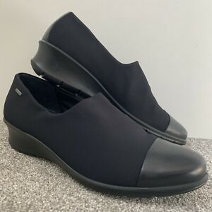 GORE-TEX Black Loafers Shoes Size 41