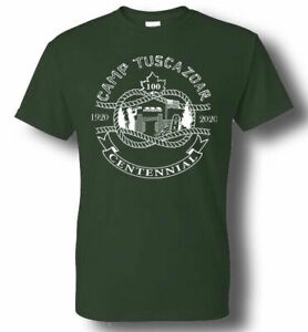 Camp Tuscazoar Centennial T-Shirts and