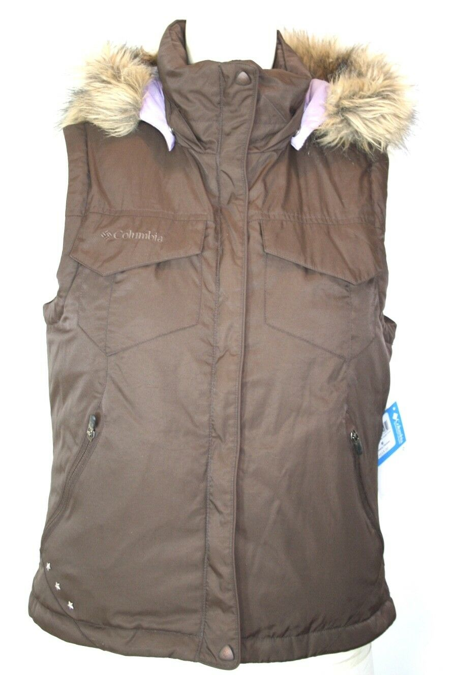 COLUMBIA Women's Insulated Down Vest NWT NWT NWT Sz M MSRP  115 Snowboarding, Snowmobile bf6839