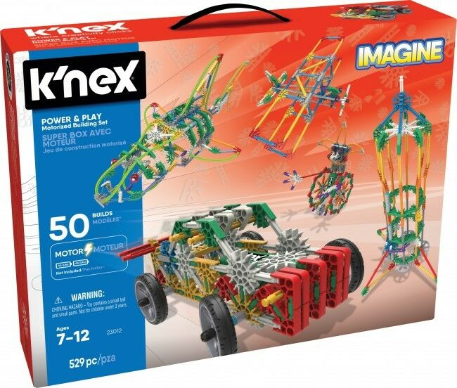 KNEX Power & Play 50 Model Motorised Building Set [Ages 7+] BRAND NEW