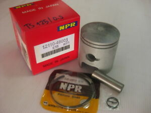 SUZUKI-TS125-TC125-RC125-DS125-PISTON-amp-RING-SET-0-50-NEW-BI184