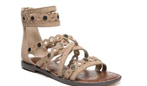Sam-Edelman-Geren-Camel-Suede-Leather-Gladiator-Sandal-Women-039-s-sizes-5-11-NEW