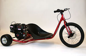 new 212cc predator gas powered drift trike metallic grey. Black Bedroom Furniture Sets. Home Design Ideas