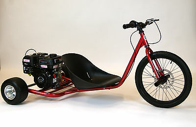 New 212cc Predator Gas Powered Drift Trike. Metallic RED. Pick Up Only. Last One