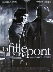 Details About La Fille Sur Le Pont Girl On The Bridge Vanessa Paradis Original Poster