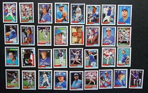 1992-Topps-Micro-Mini-Toronto-Blue-Jays-Team-Set-of-33-Baseball-Cards