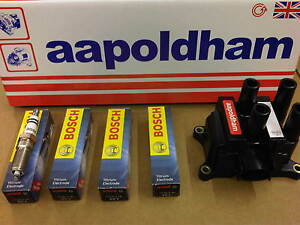 FORD-FOCUS-mk1-98-04-1-4-1-6-1-8-2-0-IGNITION-COIL-PACK-amp-4X-BOSCH-SPARK-PLUGS
