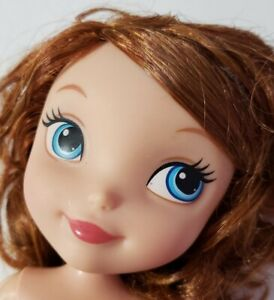 disney jr junior sofia the first princess doll nude only