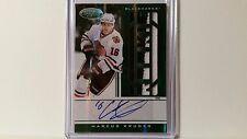 2011-12 Panini Certified Marcus Kruger RC 2 Color Prime Jersey Auto Emerald 4/5