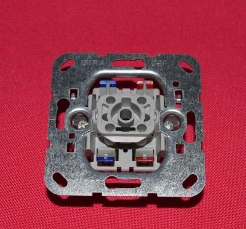 425 Gira 011200 de contrôle Interrupteur Empiècement 2 pôle avec GLIMMLAMPEN Élément