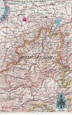 Cartina Stradale Del Trentino Alto Adige.Collezionismo Cartina Geografica Alpi Del 1938 La Svizzera Vista Dall Alto Ebay