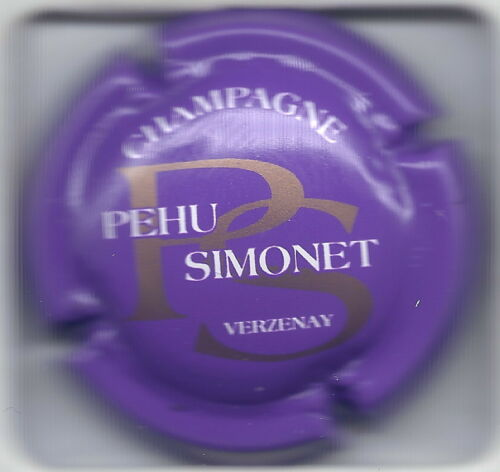 Capsule de champagne PEHU-SIMONET N°4 fond violet